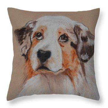 Bentley Throw Pillow by Cori Solomon