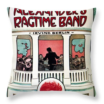 Berlin: Ragtime Band, 1911 Throw Pillow by Granger