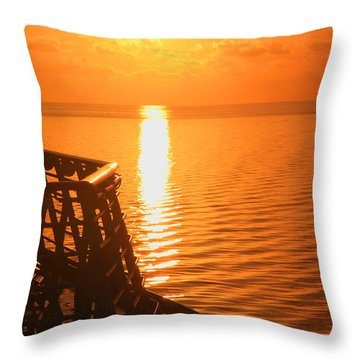 Bermuda Sunrise 2 Throw Pillow