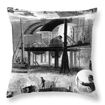 8ae5112f89 Bessemer Process Throw Pillows | Fine Art America