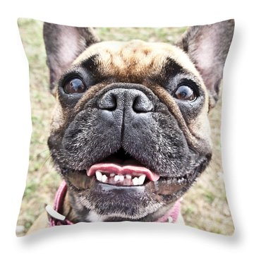 Throw Pillow featuring the photograph Best Friend by Jeannette Hunt