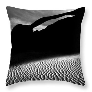 Best Of 2 Parks Throw Pillow