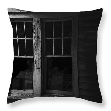 Better Days Throw Pillow by Cris Hayes