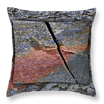 Between Tides Number 15 Throw Pillow