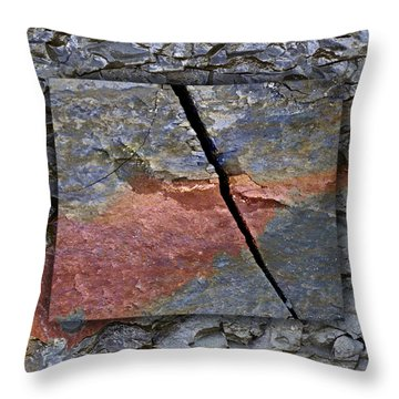 Between Tides Number 15 Square Throw Pillow