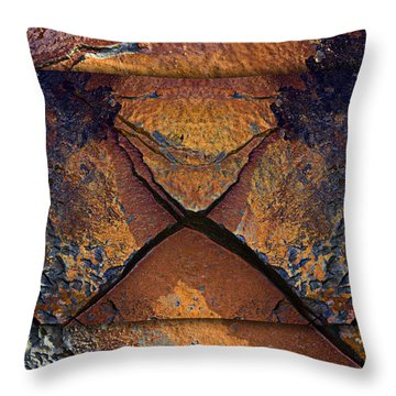 Between Tides Number 16 Throw Pillow