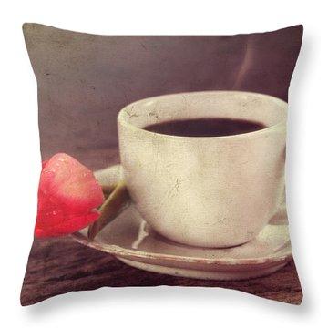 Beverage Throw Pillow by Darren Fisher