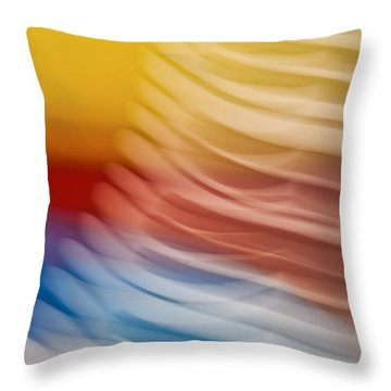 Beyond Limits Throw Pillow by Barbara McMahon