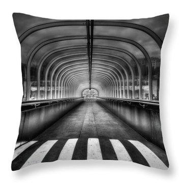 Beyond My Destiny Throw Pillow by Evelina Kremsdorf