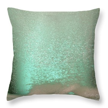 Bicarbonate Of Soda Tablets Throw Pillow by Photo Researchers, Inc.