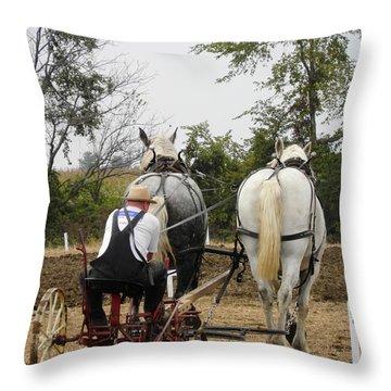 Bickleshire Farm 3 Throw Pillow