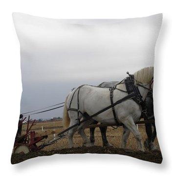 Bickleshire Farm Team 2 Throw Pillow