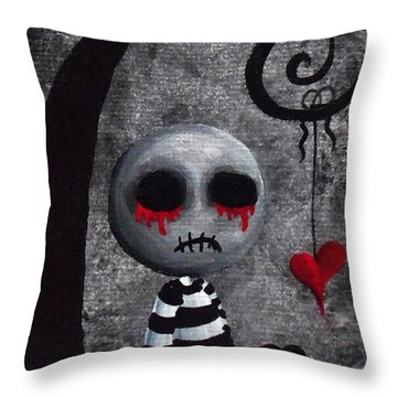 Big Juicy Tears Of Blood And Pain 2 Throw Pillow