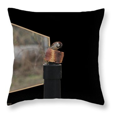 Biggest Breadcrumb Ever Throw Pillow by EricaMaxine  Price