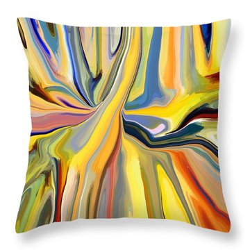 Binding Throw Pillow by Chris Butler