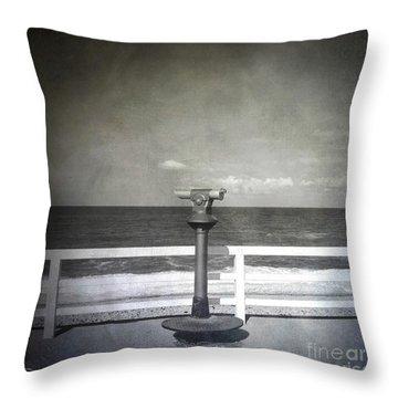 Binocular Throw Pillow by Bernard Jaubert