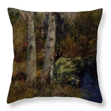 Birch Throw Pillow