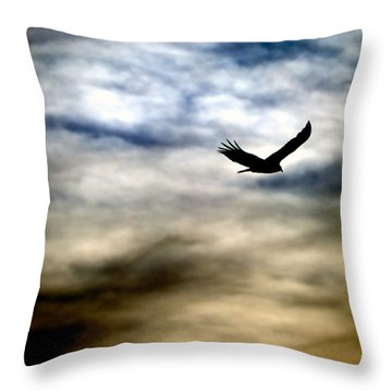 Bird 73 Throw Pillow