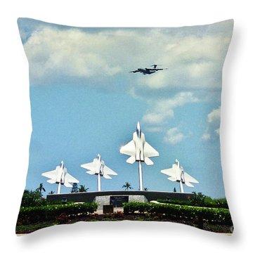 Bird Of Freedom Throw Pillow