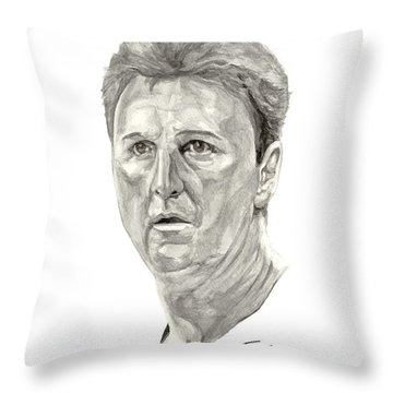 Bird Throw Pillow by Tamir Barkan