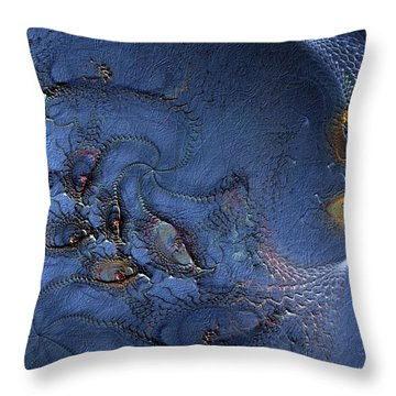 Throw Pillow featuring the digital art Birth Of The Cool by Casey Kotas