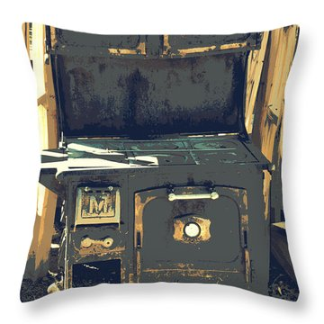 Biscuits In The Oven Throw Pillow