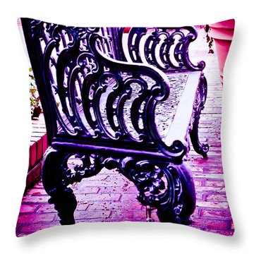 Bistro Beauty Throw Pillow