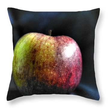 Bite Me Throw Pillow by William Fields