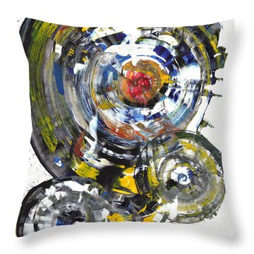 Black And White Shines Brightly  843.120911 Throw Pillow