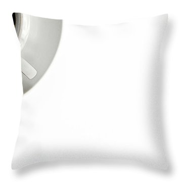 Throw Pillow featuring the photograph Black Coffee by Gert Lavsen