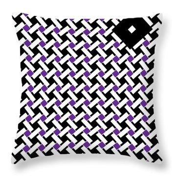 Black Flag 4. Throw Pillow by Nancy Mergybrower