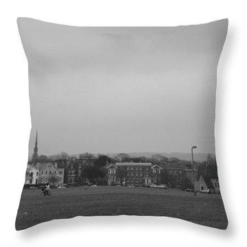 Throw Pillow featuring the photograph Blackheath Village by Maj Seda