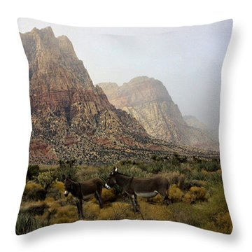 Throw Pillow featuring the photograph Blending In by Tammy Espino
