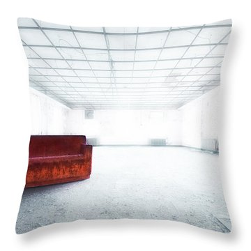 Blinded By Light. Enlightened By Darkness Throw Pillow