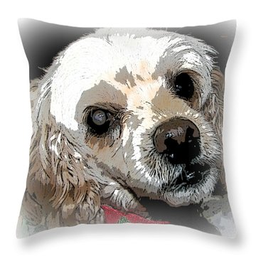 Blinded By Love Throw Pillow by Pamela Hyde Wilson