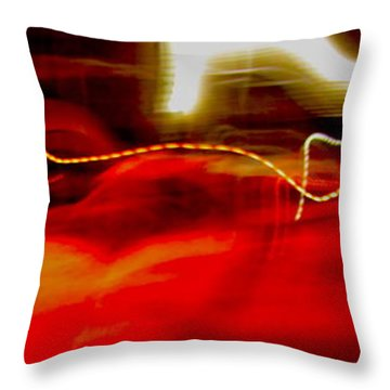 Blip Throw Pillow by Xn Tyler