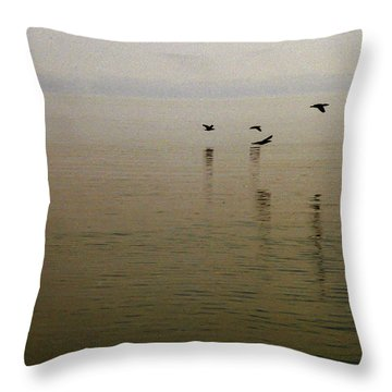Throw Pillow featuring the photograph Bliss by Clayton Bruster