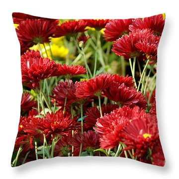 Throw Pillow featuring the photograph Blooming by Pravine Chester