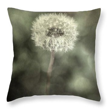 Blowball Throw Pillow by Joana Kruse