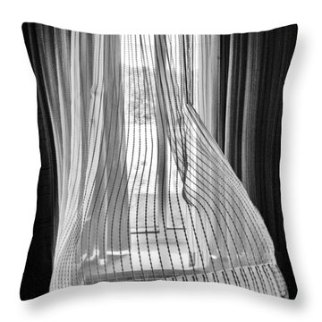 Blowing In The Ac Wind Throw Pillow