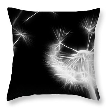 Blown Away - Sparklized Throw Pillow