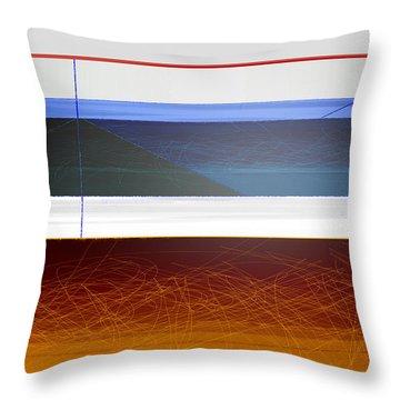Blue Bridge To Life Throw Pillow