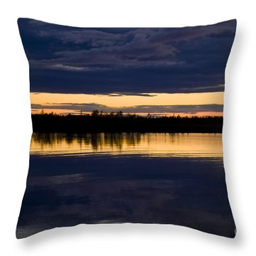 Blue Hour Throw Pillow by Heiko Koehrer-Wagner