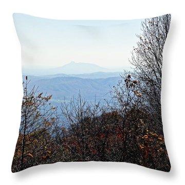 Throw Pillow featuring the photograph Blue Ridge 1 by Steven Lebron Langston