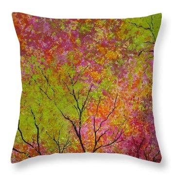 Blush 4 Throw Pillow