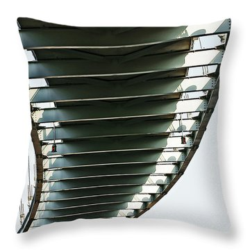 Bob Kerrey Pedestrian Bridge Throw Pillow