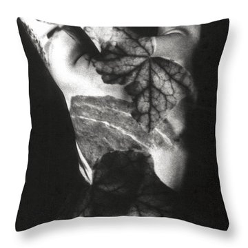 Body Projection Woman - Duplex Throw Pillow