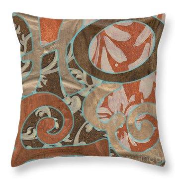 Bohemian Hope Throw Pillow