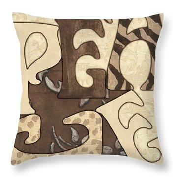 Bohemian Peace Throw Pillow