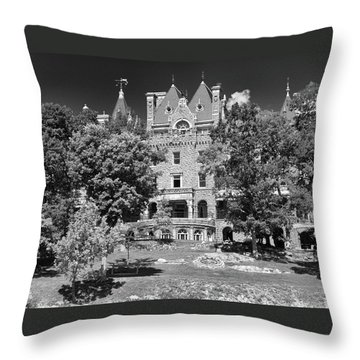 Boldt Castle 0152 Throw Pillow
